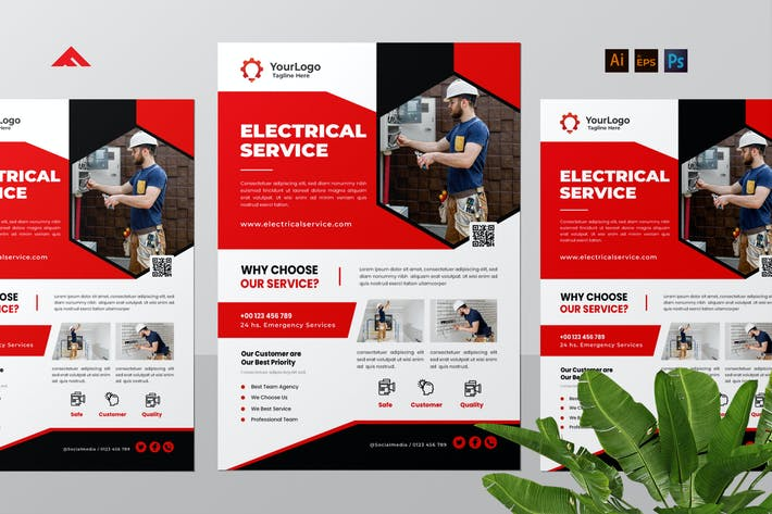 Electrician Service Flyer