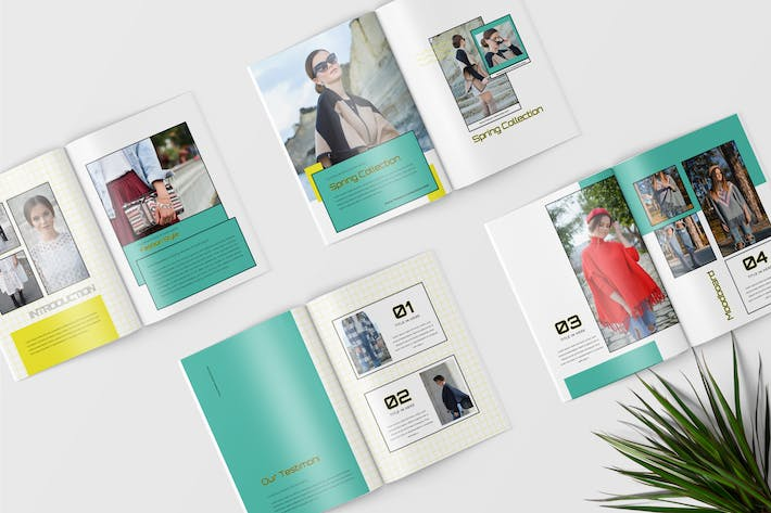 Cover Image For Lookbook Magazine Template
