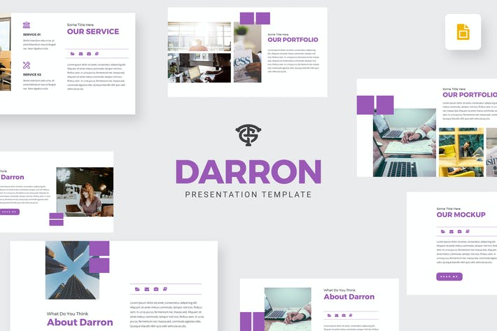 Thumbnail for Даррон - Google Слайды
