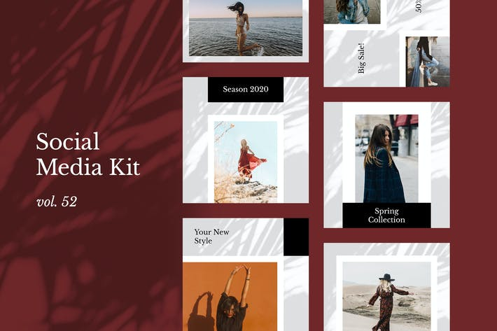 Thumbnail for Social Media Kit (Vol.52)