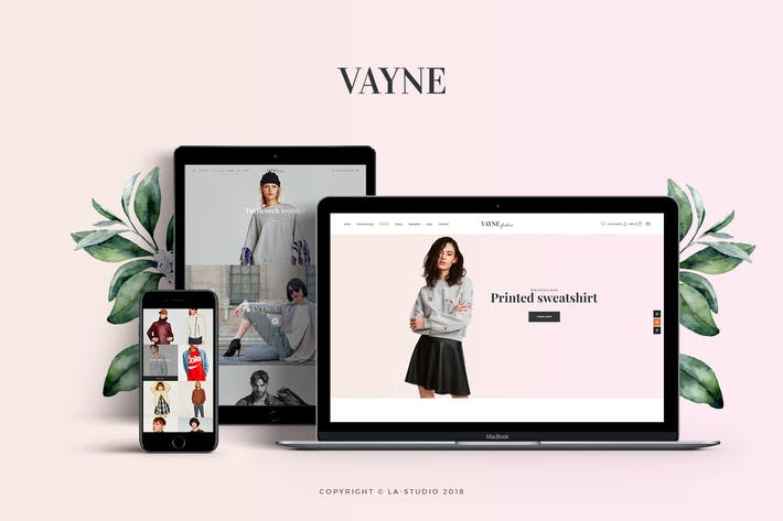 Thumbnail for Vayne - Multipurpose WooCommerce Theme