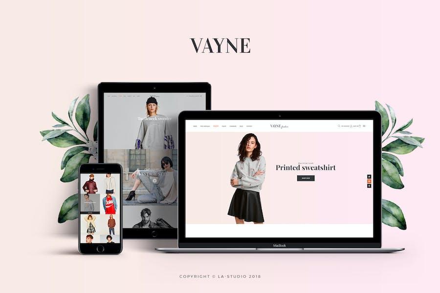 Vayne - Multipurpose WooCommerce Theme
