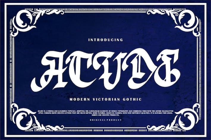 Thumbnail for Acude | Moderno gótico victoriano
