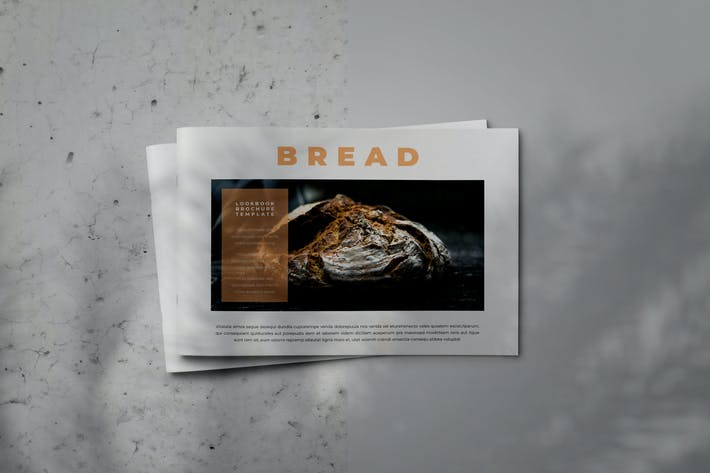 Thumbnail for BREAD - Indesign Brochure Lookbook Template