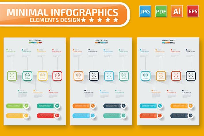 Thumbnail for Timeline Infographic Design