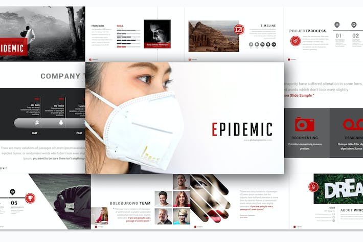 Thumbnail for Epidemic - Keynote Template