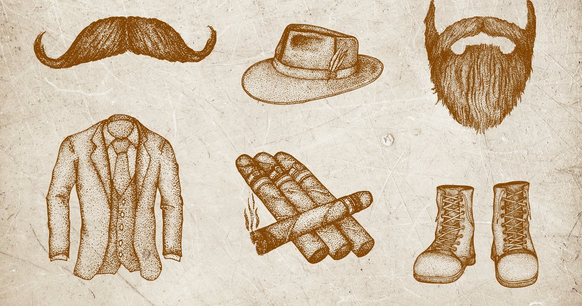 Download Vintage Illustration - Man Fashion by deemakdaksinas