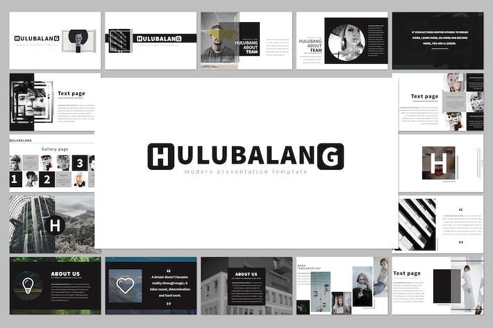 Thumbnail for Hulubalang Google Slide