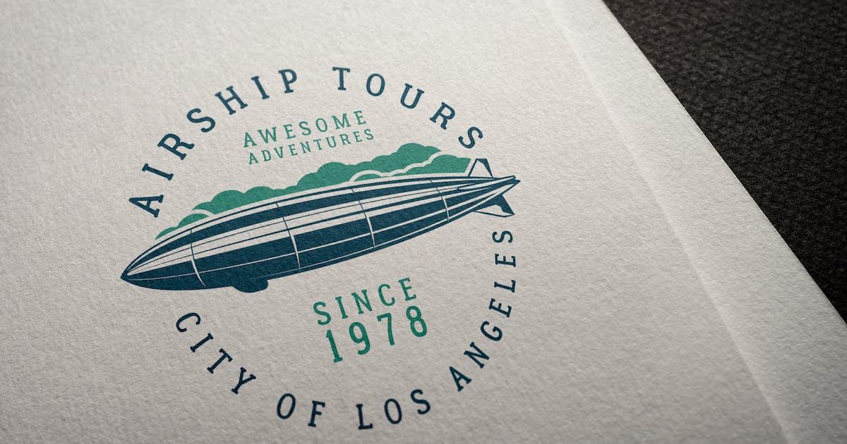 Download Airship Tours Logo Template by JeksonJS