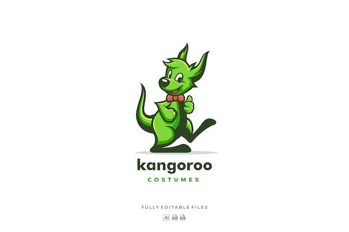 Thumbnail for Happy Kangaroo Mascot Logo