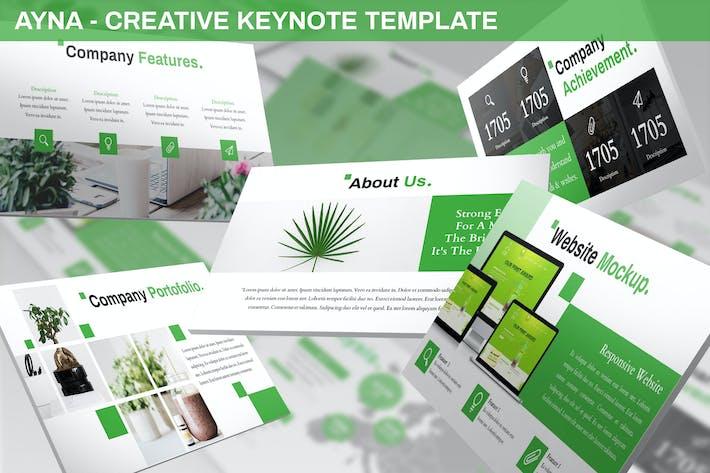 Ayna - Creative Keynote Template