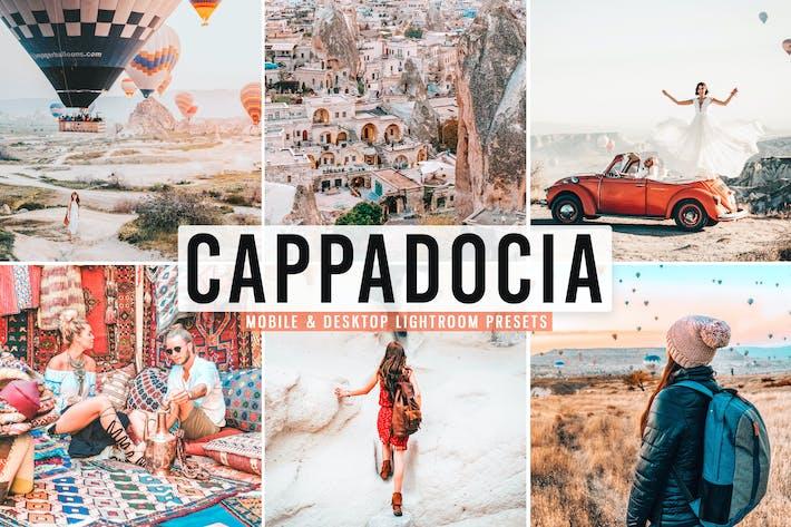 Thumbnail for Пресеты Lightroom для мобильных и настольных ПК Cappadocia
