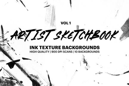 Carnet de croquis d'artiste - Textures