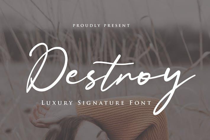 Thumbnail for Destroy Script