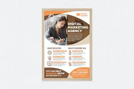 Digital Marketing Agency Poster