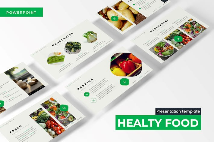 Healthy Food - Powerpoint Template