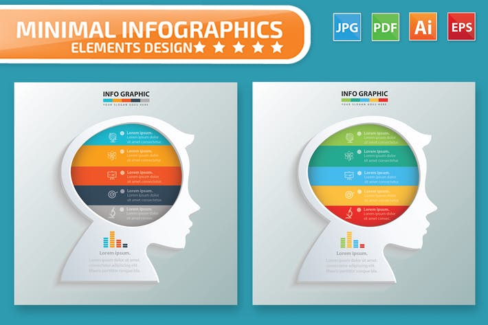 Thumbnail for Creative Infographic Design