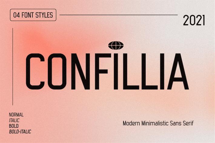 Confillia Sans Serif