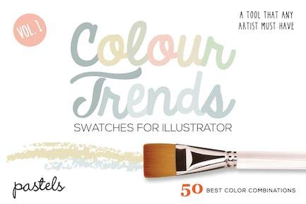 Colour Trends Pastel Swatches Vol 1