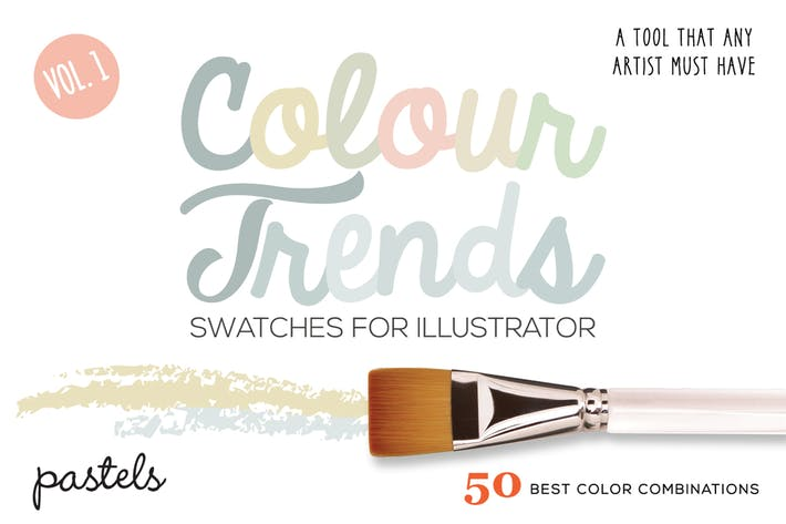 Thumbnail for Colour Trends Pastel Swatches Vol 1