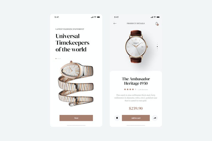 Thumbnail for Watchly App UI Concept
