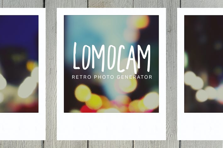Thumbnail for Lomocam - Ретро Фотогенератор
