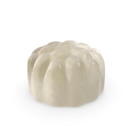 Gummy Cylinder Candy Weiß