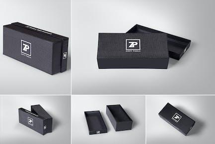 5 Attractive Gift Box Mockups