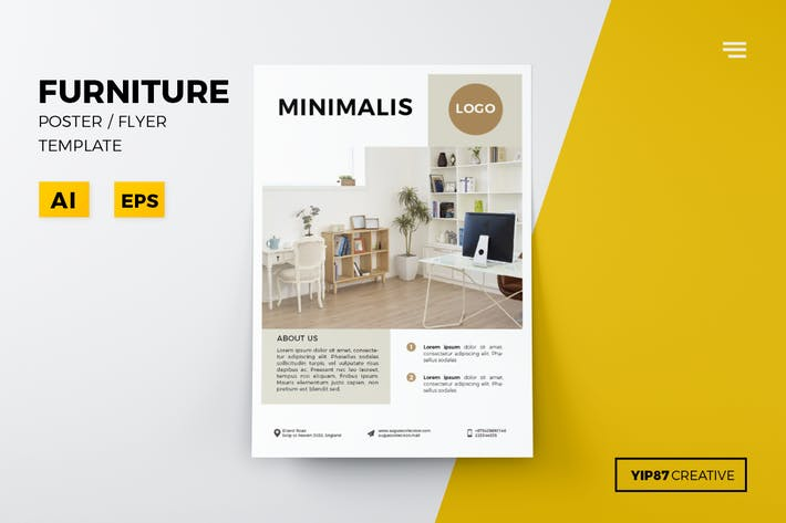 Thumbnail for Minimalis Furniture Flyer