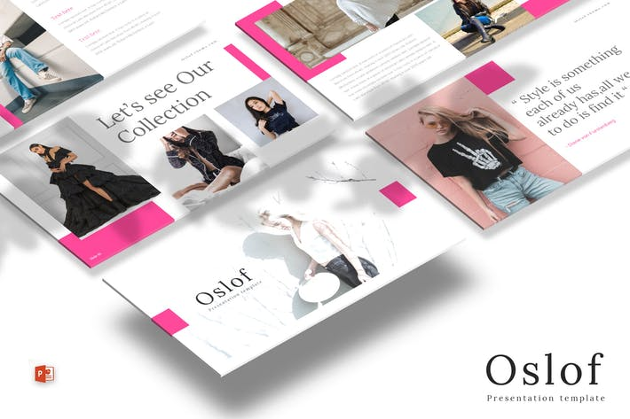 Thumbnail for Oslof - Powerpoint Template