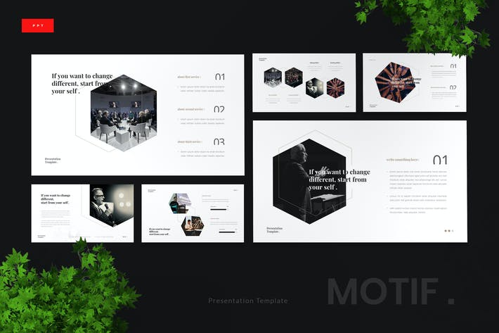 Thumbnail for Motif - Motivational Speaker Powerpoint Template