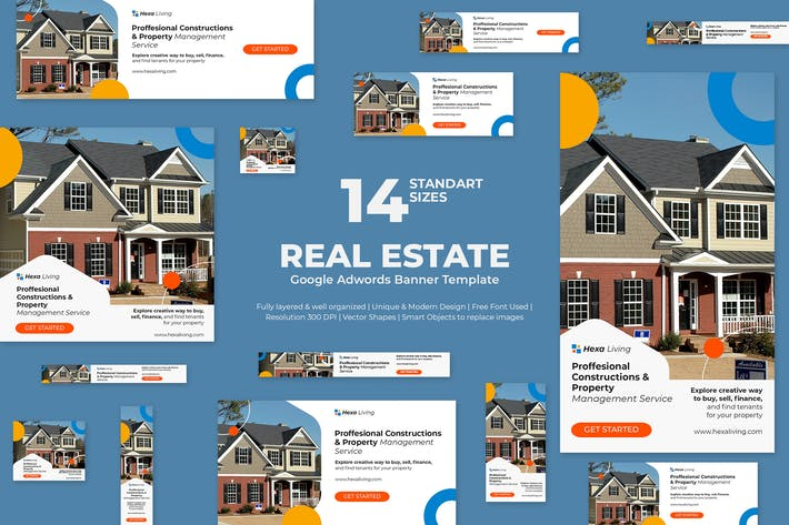 Thumbnail for Real Estate Google Ads Banners