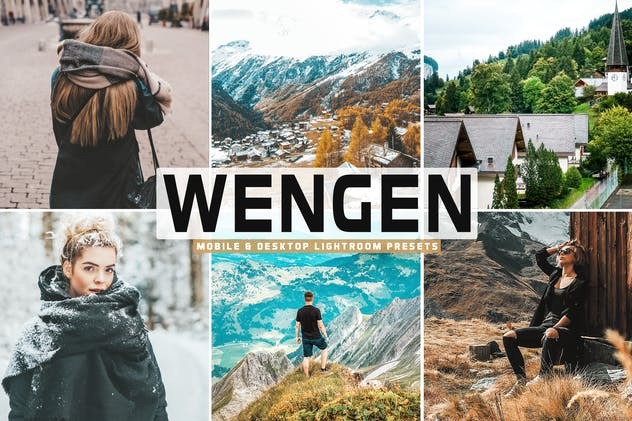 Wengen Mobile & Desktop Lightroom Presets - product preview 0