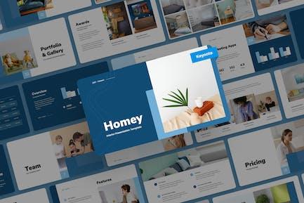 Homey - Interior Keynote Presentation