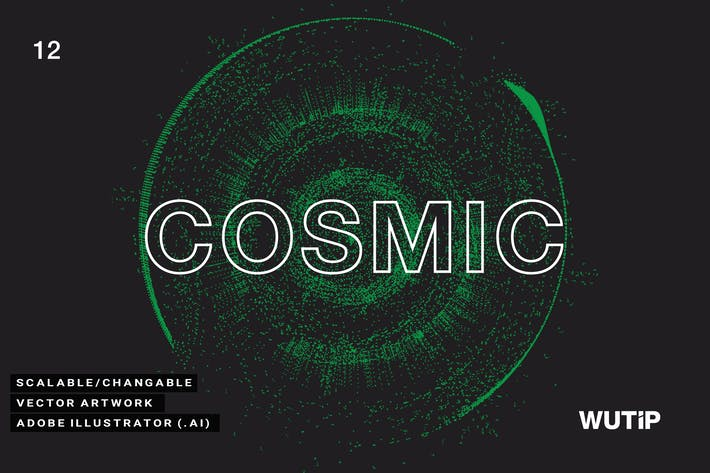 Cover Image For Vector Cosmic 12