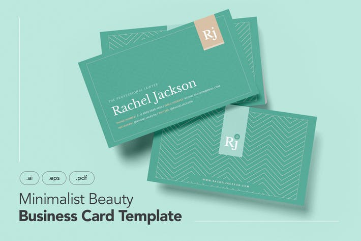 Thumbnail for Professional and Minimalist Business Card V.26