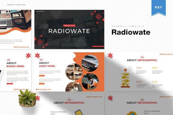 Thumbnail for Radiowate | Шаблон Keynote