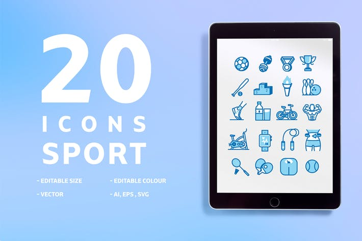 Thumbnail for 20 Icons Sport