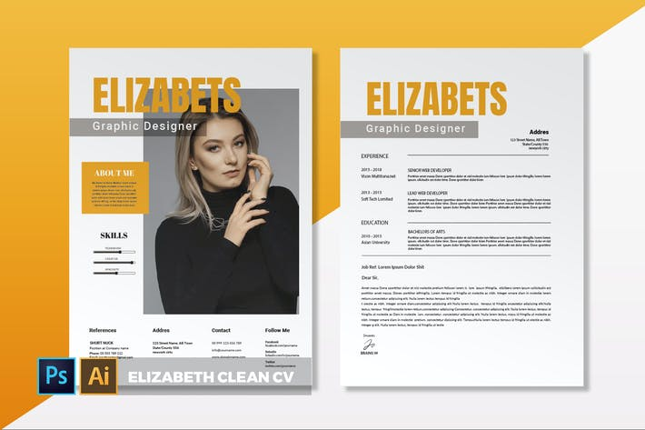 Thumbnail for Elizabeth Clean | CV & Resume