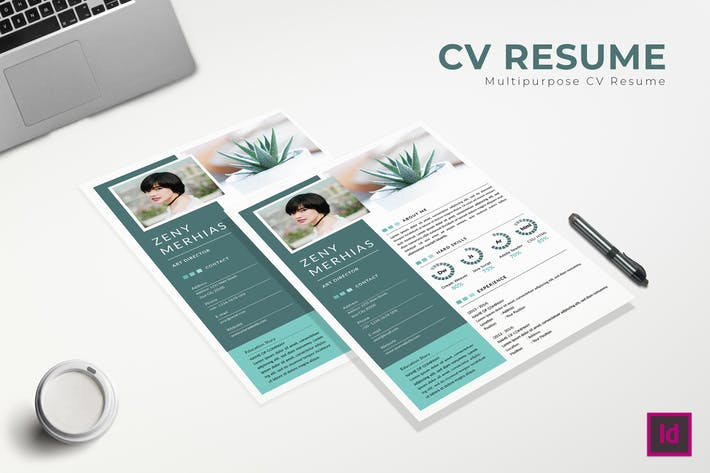 Thumbnail for Flaws CV Resume Template