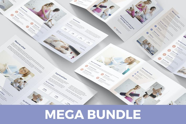 Thumbnail for Pregnancy School – Brochures Bundle Templates