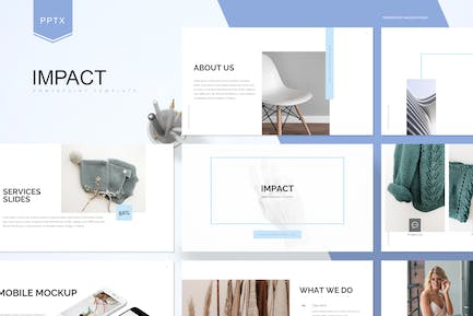 Impact - Powerpoint Template