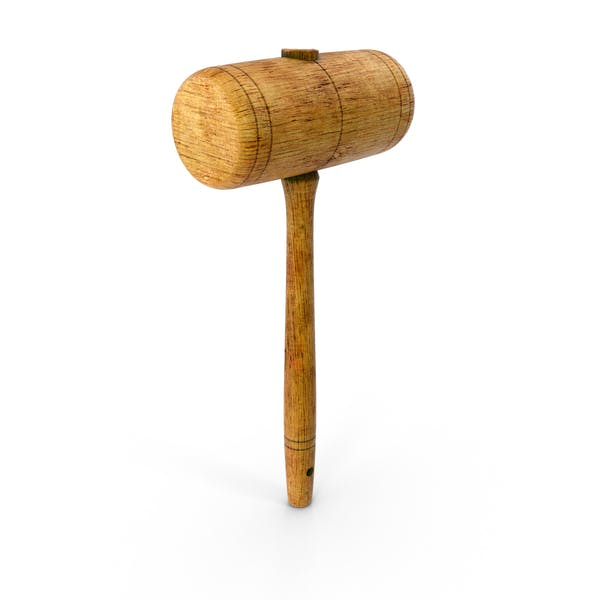 Thumbnail for Vintage Wooden Mallet