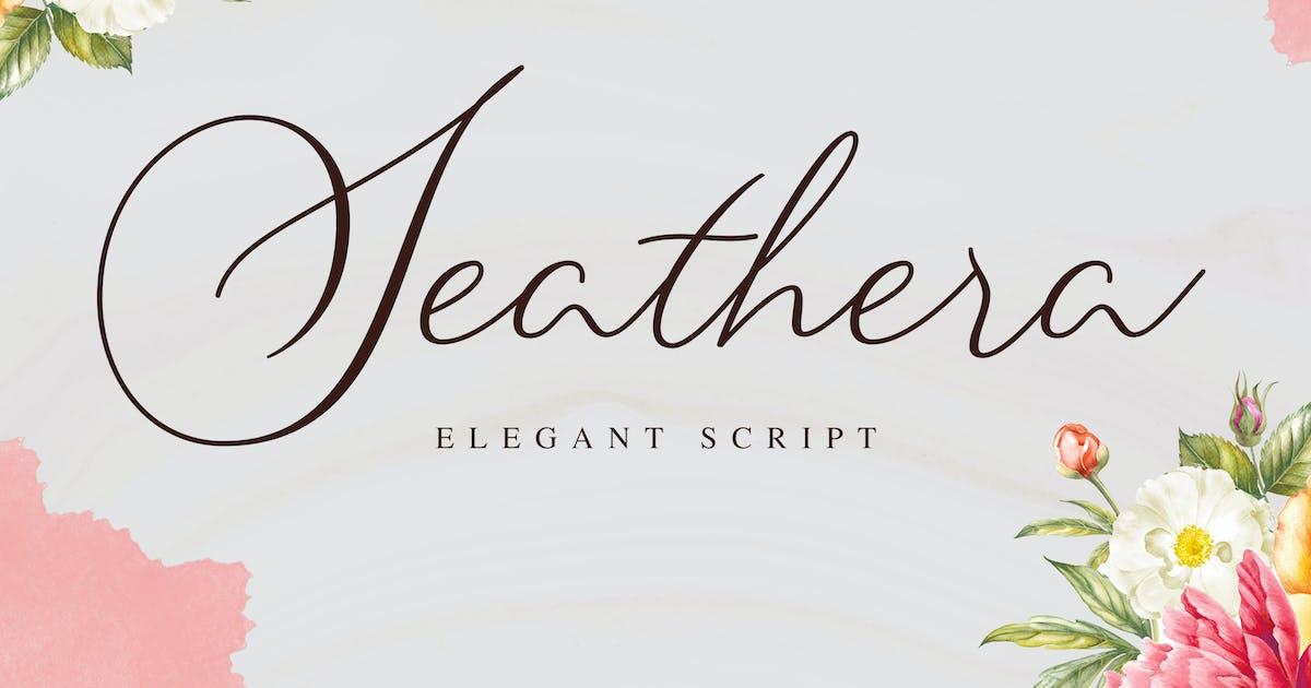 Download Seathera - Elegant Script by aditypotypea