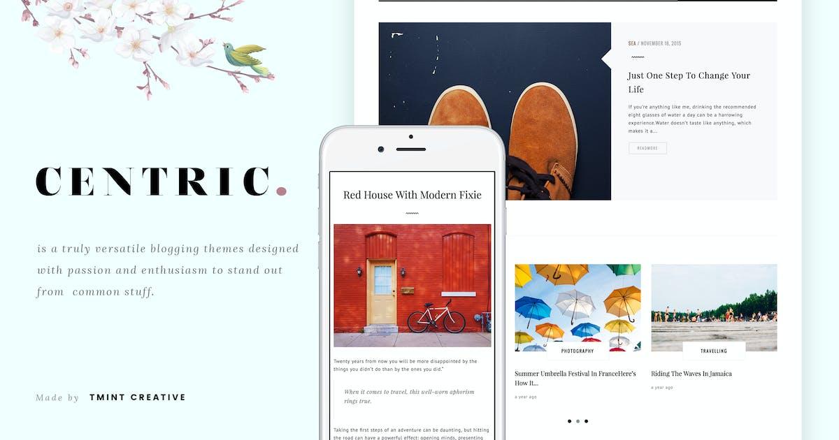 Centric - A Versatile Tumblr Theme by TMint