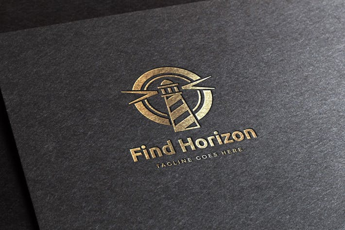 Thumbnail for Find Horizon Logo Template