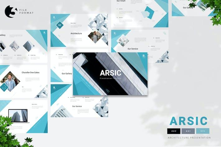 Arsic - Шаблон презентации архитектуры