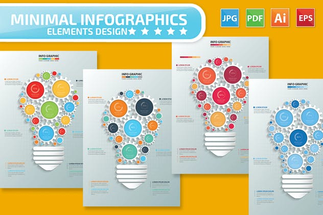 Idea Infographic Design - product preview 5