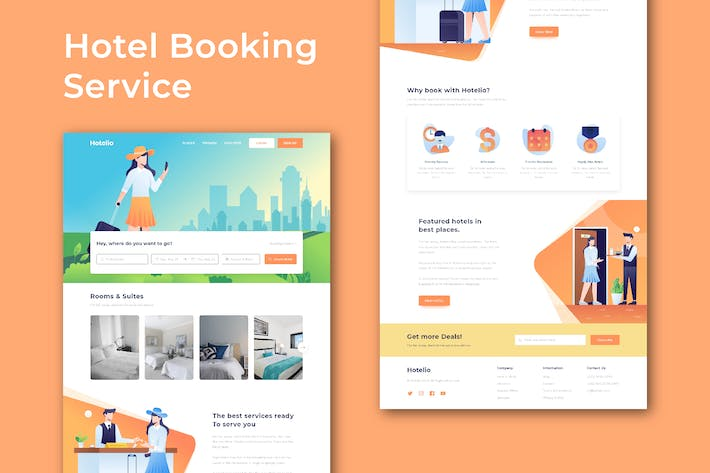Thumbnail for Hotel Booking and Travel - Website