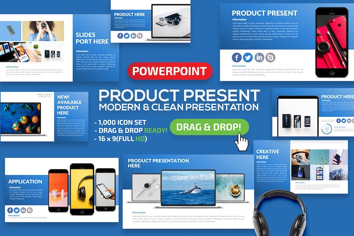 Thumbnail for Product Powerpoint Presentation